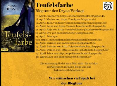 Banner Blogtour Teufelsfarbe
