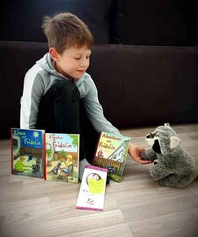 Buchreihe Linus und Fridolin