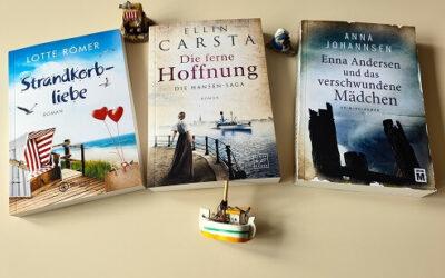 """Lesewochenende zu """"Enna Andersen und das verschwundene Mädchen"""", """"Strandkorbliebe"""" und """"Die ferne Hoffnung"""""""