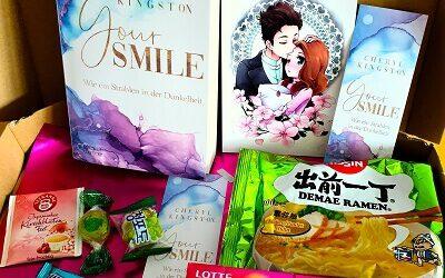 Buchpaket: Your Smile – Wie ein Strahlen in der Dunkelheit