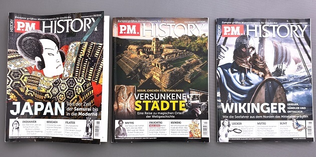 P.M.History Magazin