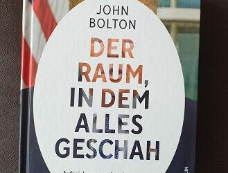 Der Raum, in dem alles geschah von John Bolton