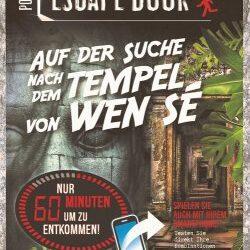 Pocket Escape Book: Auf der Suche nach dem Tempel von WEN SÈ