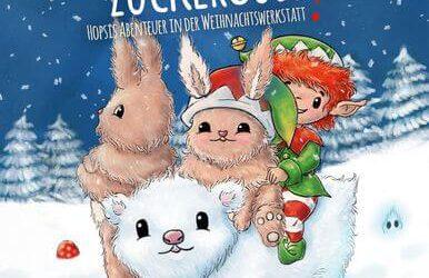 Zickiger Zuckerguss: Hopsis Abenteuer in der Weihnachtswerkstatt von Jasmin Zipperling