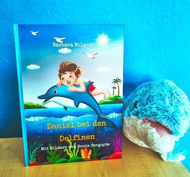 Daniel bei den Delfinen von Barbara Bilgoni