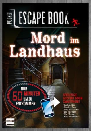 Pocket Escape Book – Mord im Landhaus