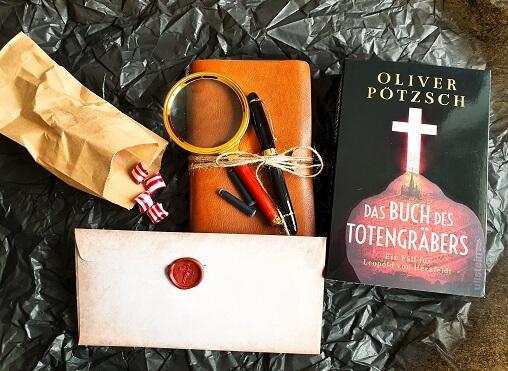 Das Buch des Totengräbers von Oliver Pötzsch