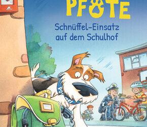 Kommissar Pfote 3 – Schnüffel-Einsatz auf dem Schulhof von Katja Reider