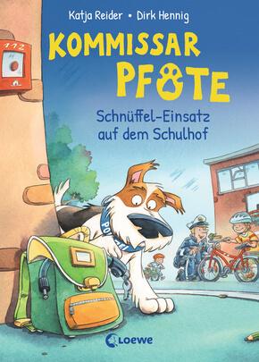 Kommissar Pfote 3 - Schnüffel-Einsatz auf dem Schulhof von Katja Reider